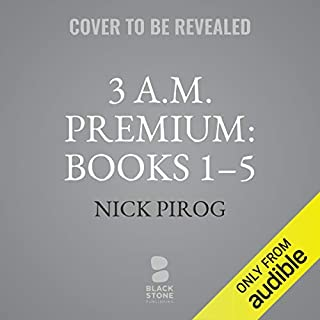 3 a.m.: Premium audiobook cover art