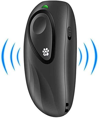 Ultraschall Hunde Repeller und Trainer Gerät Anti Bellen Stop Rinde Einstellbare Frequenz Handheld Hunde Trainingsgerät Anti-Bell Ultraschall Gerät für Hunde Bellkontrolle 100% sanft & sicher