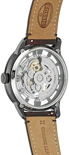 Fossil Men's Townsman Stainless Steel Mechanical Automatic Watch WeeklyReviewer