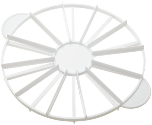 Ateco Cake Portion Marker, 10 or 12 Slices, Works for Cakes Up To 16-Inches Diameter