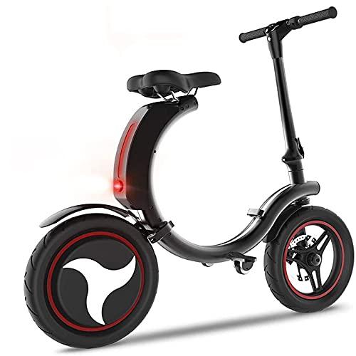 Table one Bicicleta Plegable Adulto, Bicicleta Electrica, Bicicletas Eléctricas, 450w 14 '' Bicicleta Eléctrica, Batería Extraíble 7.8ah /12.5ah Iones De Litio