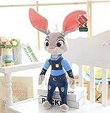 N/D PelucheZootropolis Coniglio Judy Hopps Nick Wilde Volpe Anime Peluche Bambole Peluche Animali di Peluche Giocattoli per Bambini Regali per Bambini 30 cm Rosa