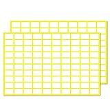 Pack de 2000, 13 x 8 mm - Etiquetas Adhesivas Blancas Pegatinas