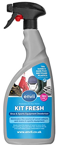 Envii Kit Fresh – Spray Elimina Odori per Scarpe e Attrezzatura Sportiva – 750 ml