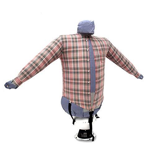 EOLO Plancha Secadora Plancha y Seca en automático Camisas Blusas Polos Refresca Ropa con Aire frío Planchado Vertical Profesional Garantía de 5 años SA01