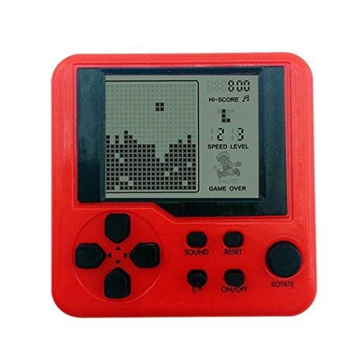 Dieron Nuovi Bambini Tetris Handheld Game Console Portable Mini Game Handheld Toys Video Games Plug & Play