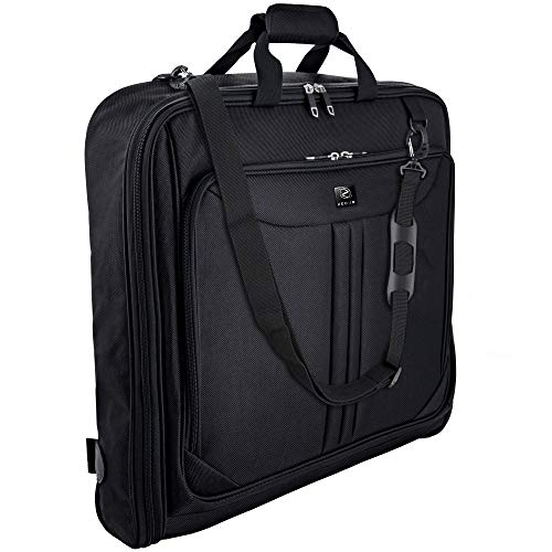 ZEGUR Suit Carry On Garment Bag for Travel & Business Trips With Shoulder Strap...