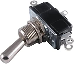 Switch - Carling, DPDT, Toggle, 2 Position, (On-None-On)