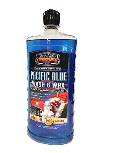 Surf City Garage Bleu Pacifique et Wash & Wax Cire-907-Lavage et sans rayures, Shampoing auto