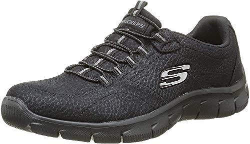 Skechers Empire Take Charge 12407 Zapatillas de deporte Mujer, Negro (BBK), 39.5 EU (6.5 UK)