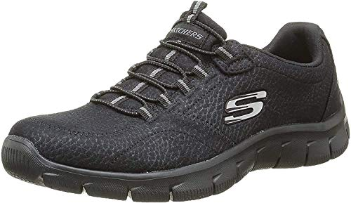 Skechers Empire Take Charge 12407 Zapatillas de deporte Mujer, Negro (BBK), 36 EU (3 UK)