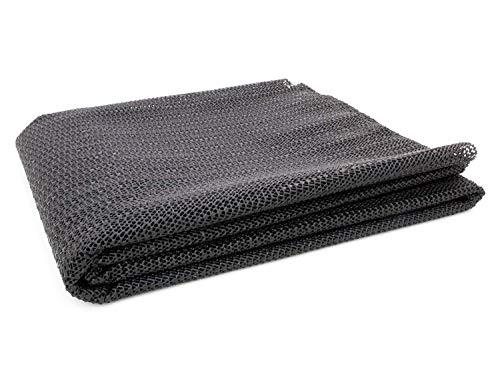 Kofferraummatte Universal Zuschneidbar 1,00m x 1,20m - Schwarze Antirutschmatte für Auto Schutzmatte für Kofferraum Kofferraumschutz