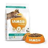 IAMS for Vitality Light in Fat/Esterilizado Alimento para gatos con pollo fresco...