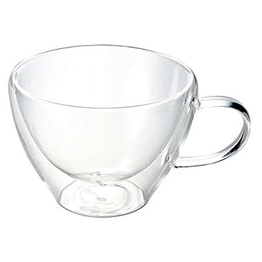 Luigi Bormioli Thermic Cappucino Glass, 13-Ounce, Clear, Set of 2