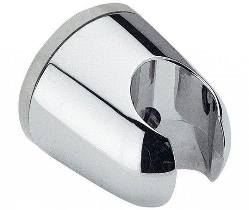 Brausehalter / Wandhalter - rund - für Handbrause mit Schraube und Dübel