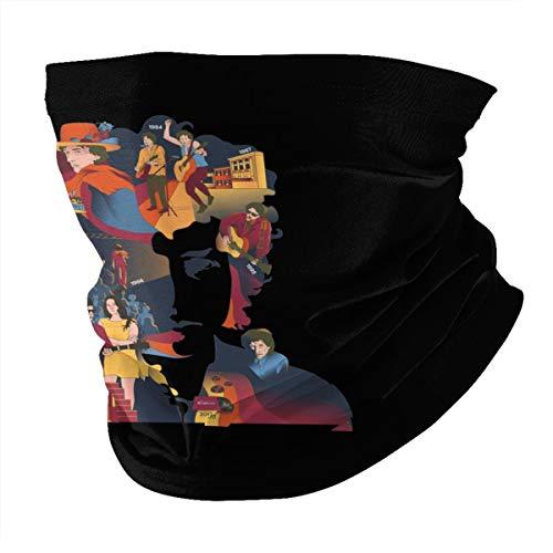 Top Wholesale Bob Musician Dylan Scrittore Multifunctional Face Cover Headwear Neck Scarf Bandana Balaclava Tube Gaiter Stretch Snood Headband