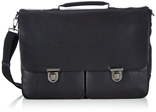 Strellson Garret Briefbag L Aktentasche, Schwarz