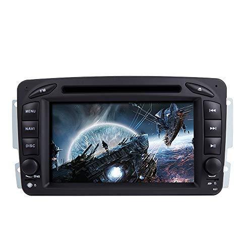 """N / A BOOYES para Mercedes Benz A-W168 C-W203 Clase G W463 Viano Vito W639 7"""" Reproductor de DVD para automóvil Radio Sistema estéreo GPS Reproductor Multimedia para automóvil"""