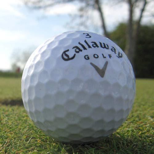 25 CALLAWAY HX TOUR PELOTAS DE GOLF RECUPERADAS / LAKE BALLS -...