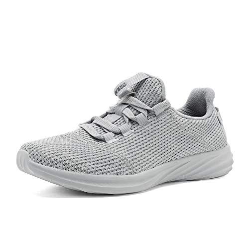 DREAM PAIRS Women's Grey Walking Shoes Lightweight Sneakers Size 5 M US DHF19001L