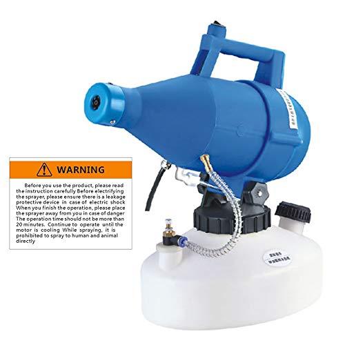 XXGJK Elettrico ULV Fogger Portatile Ultra-Basso Volume Atomizzatore Spruzzatore Nebbia Sottile Ventilatore Pesticidi Nebulizzatore 4.5L Nebulizzatore