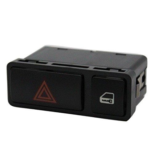 TAKPART Warnblinkschalter Verriegelungsschalter Zentralverriegelung für E46 E53 E85 325 61318368920