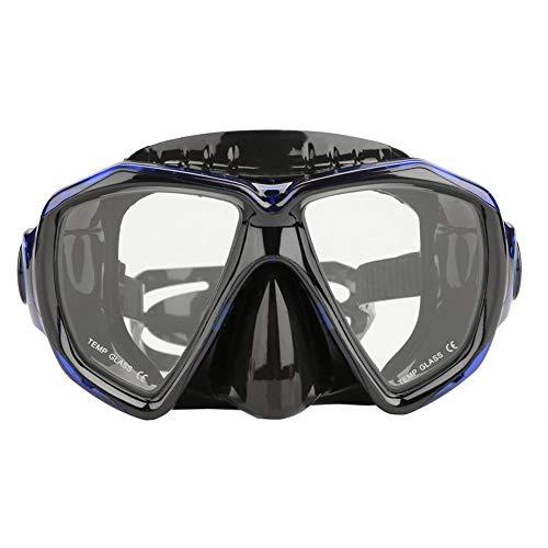 Zetiling Snorkel Masker, Snorkeling Scuba Duikbril, Past perfect op het gezicht, Zachte verstelbare riemhoofd voor zwemmen, Duiken, Snorkelen