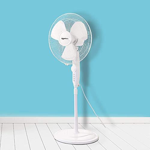 AmazonBasics High Speed Oscillating Pedestal Fan