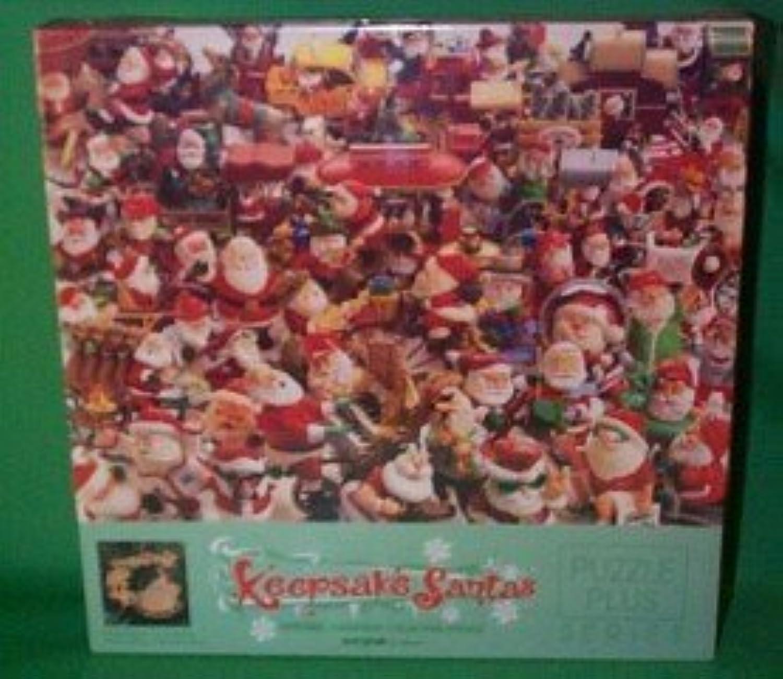 Springbok Hallmark Keepsake Ornament Santas Collection 500 Piece Jigsaw Puzzle with Collectible Ornament Bonus (1994) by Springbok
