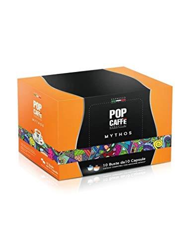 100 CAPSULE COMPATIBILI MITACA MPS POP CAFFE' MISCELA CREMOSO