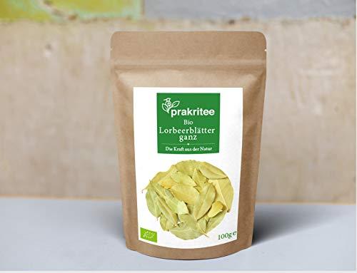 BIO Lorbeerblätter ganz 100g | Lorbeerblätter ganz | Nachhaltig und biologisch angebaut | Lorbeerblätter | ORGANIC Laurel leaves whole | 100g | DE-ÖKO-044