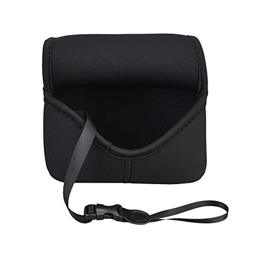 JJC Ultra-Light Neoprene Camera Case Pouch for Sony A6600 A6500 A6400 A6300 A6100 A6000 A5100 A5000 + E 18-55mm/10-18mm/50mm Lens And Other Camera & Lens Below 4.7 x 2.9 x 5.1