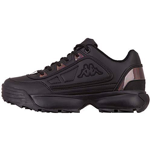 Kappa Rave Gc Women, Zapatillas para Correr de Carretera Unisex Adulto, 1111 Black, 40 EU