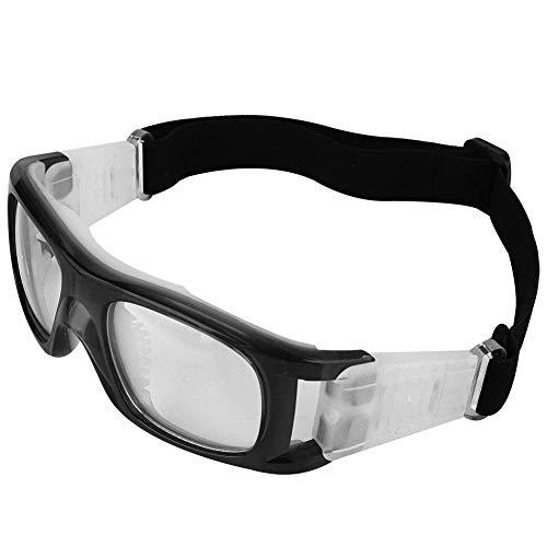 occhiali basket Alomejor Occhiali Sportivi Basket Professionale Antideflagrante Adulti Occhiali Protettivi Personale da Calcio Pallacanestro Tennis Amatori di Basket (Nero)