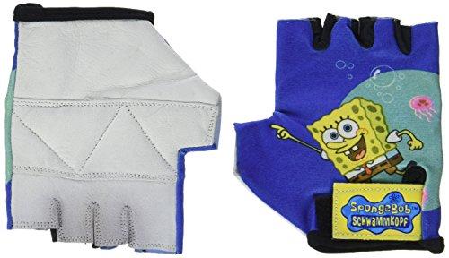 Sponge Bob Handschuhe gelb/blau +Dekor