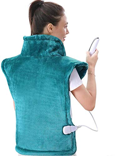 Electric Heating Pad Neck Shoulder and Back Heating Wrap Keep You Warm in...