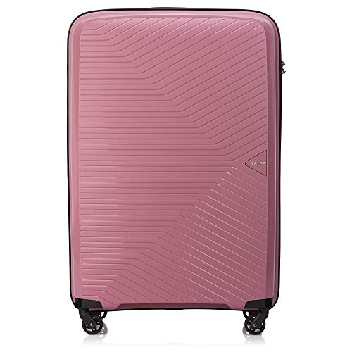 Tripp Rose Chic Large 4 Wheel Suitcase