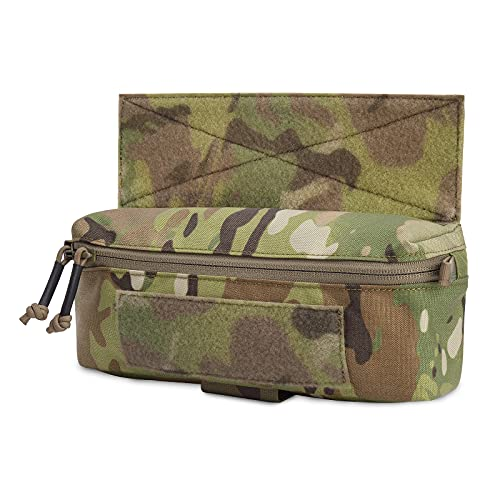 PETAC GEAR Tactical Mini Drop Pouch Fanny Pack Tool Pouch for Tactial Vest Chest Rig