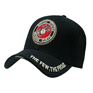 Rapid Dom US Military Legend Branch Logo Rich Embroidered Baseball Caps S001