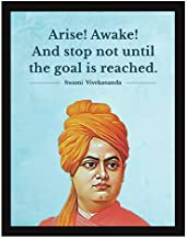 Chaka Chaundh - Quotes Frames - Motivational Quotes Frames - Swami Vivekananda Motivational Frame – framed poster for OFFICE WALL, SCHOOL, STUDY ROOM, COLLEGE, INSTITUTE, STUDENT, ENTREPRENEUR, CLASSROOM & HOME - Quotes Wall Frames - Wall Frames with Quotes - Inspirational Quotes Wall Frames - Quotes Frames for Walls Decoration - Photos with Quotes - (34 cm x 27 cm x 4 cm)