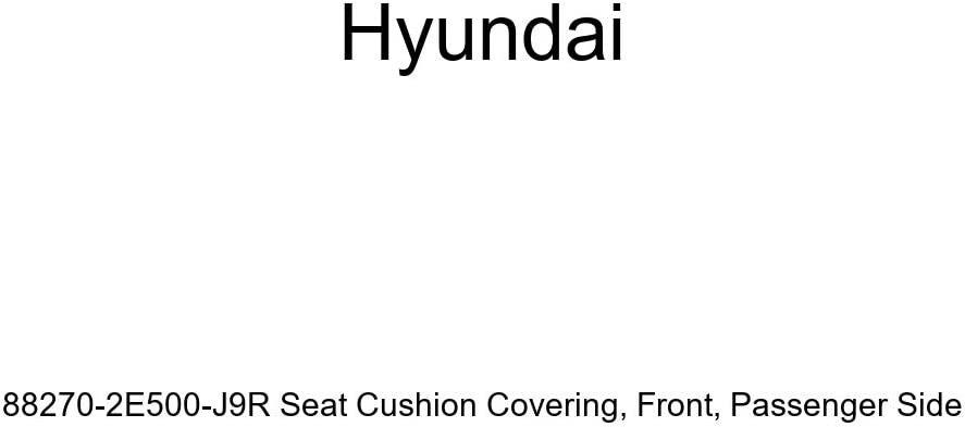 Max 80% OFF Genuine Hyundai 88270-2E500-J9R Ranking TOP4 Seat Covering Pa Front Cushion