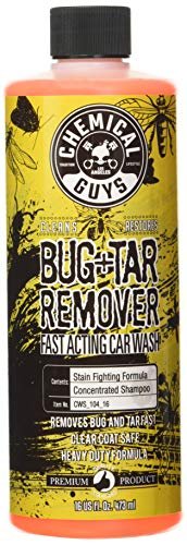 Chemical Guys CWS_104_16 Bug & Tar Heavy Duty Car Wash Shampoo (16 oz)