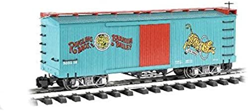 Bachmann Industries Ringling Bros. Barnum & Bailey - Box Car - Tiger  32 - Large  G  Scale Rolling Stock Train by Bachmann Trains