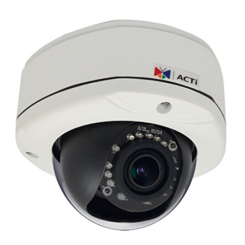 Find Discount ACTi E86A 3MP Superior WDR, Vari-focal lens IR Dome Camera