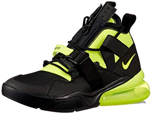 Nike Men's Air Force 270 Utility, Black/Volt, Size 10.5