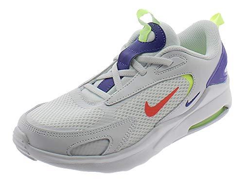 Nike Air Max Bolt, Scarpe da Corsa, White Bright Crimson Volt Indigo Burst, 34 EU