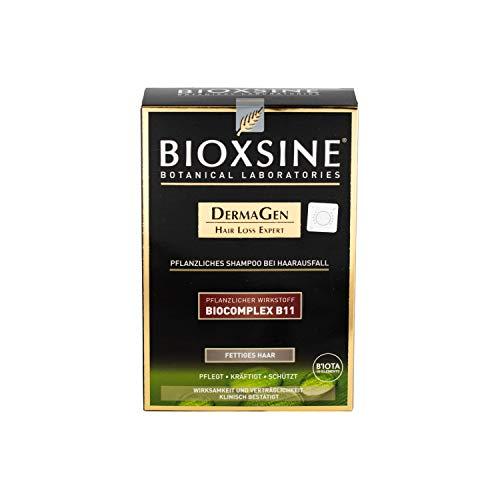 Bioxsine Shampoo - gegen Haarausfall   mit pflanzlichem Haarwaschmittel das Haarwuchs beschleunigen   Haarwuchsmittel   für fettiges Haar 300 ml