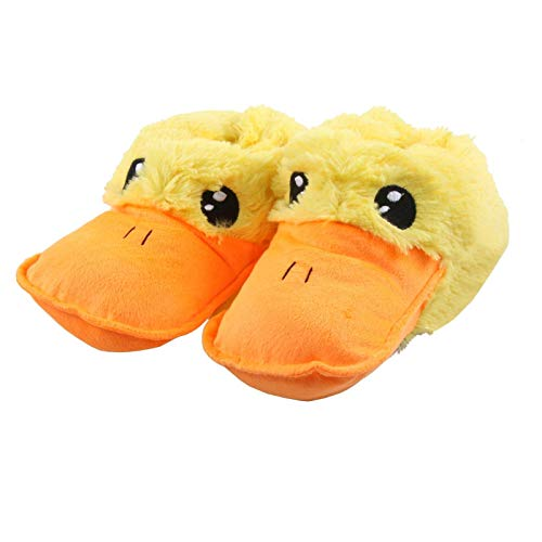 Tierhausschuhe Kinder Hausschuhe Ente, Gelb, 36/37, TH-BQUACK