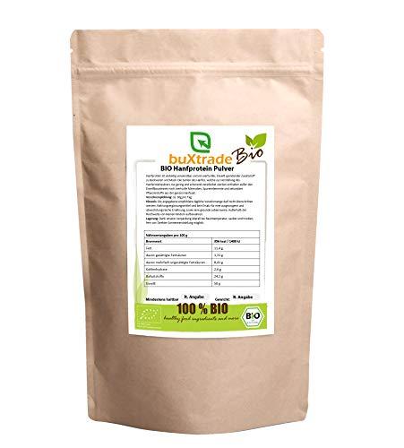 2x 5 kg | BIO Hanfprotein Pulver | Nahrungsergänzungsmittel | Pulver | Buxtrade