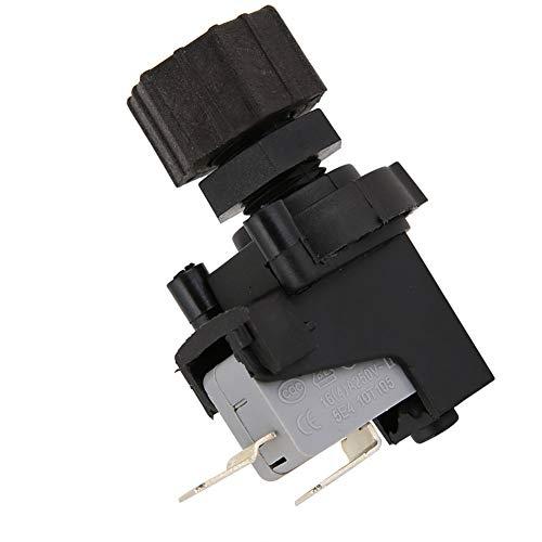 Micro interruptor de presión, 2 tipos de interruptor de aire ABS, interruptor de presión de aire ajustable de 125-250 V para procesador de residuos de alimentos, piscina